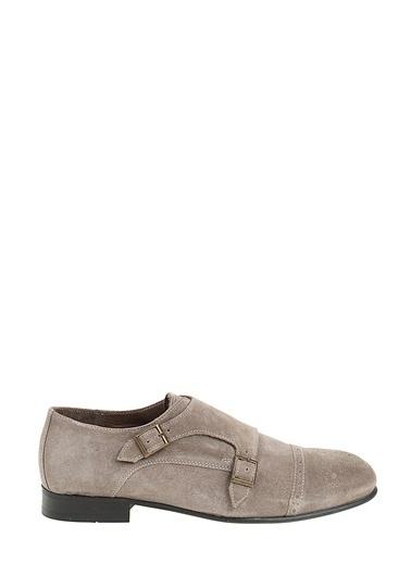 Faruk Sağın %100 Deri Casual Ayakkabı Vizon